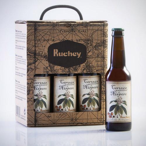 Cerveza artesanal de nispero RUCHEY